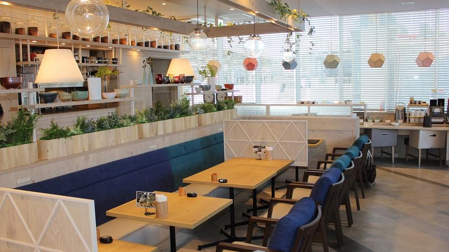 【朝食】2階レストラン