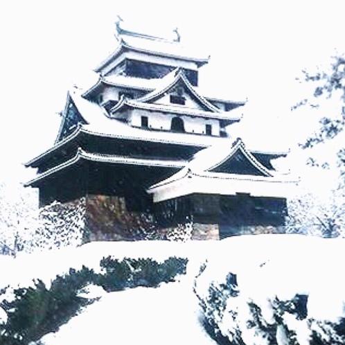 国宝松江城 冬