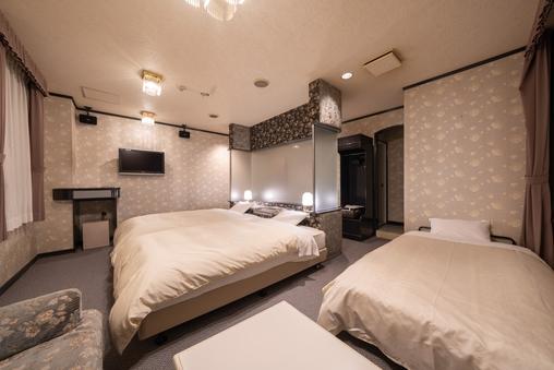 《禁煙》スタンダードトリプル(40平米以上110cm幅ベッド