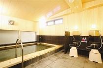 ●1F 大人気♪檜香る天然温泉大浴場