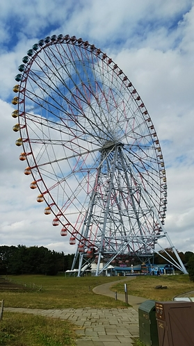 葛西臨海公園 ダイヤと花の大観覧車