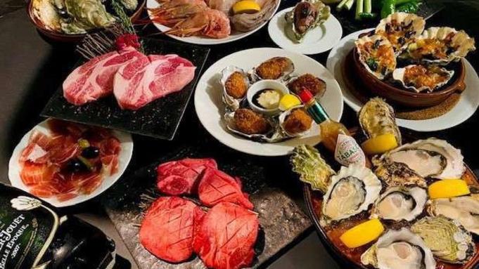 【絶品の牡蠣と美味しいお肉と魚介・野菜のグリルを味わう】1泊2食付きプラン!!【飲み放題付】