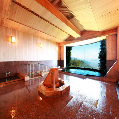 大パノラマ展望 檜風呂《ひのきの湯》