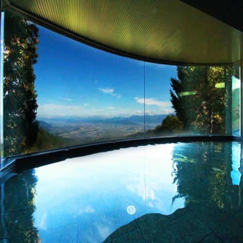 大パノラマ展望 ラドン人工温泉 石風呂《見晴らし湯》