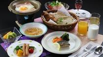 洋食(朝食例)