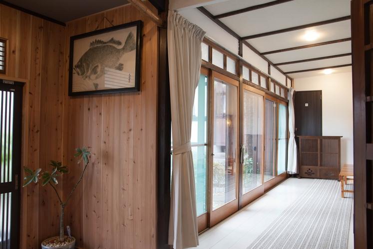 真鶴 民宿 桜荘 廊下3