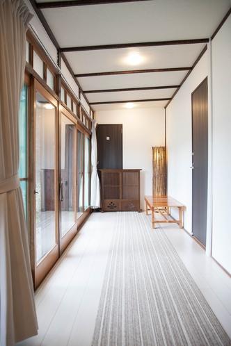 真鶴 民宿 桜荘 廊下1