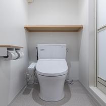 ◆客室トイレ 全室温水洗浄です♪