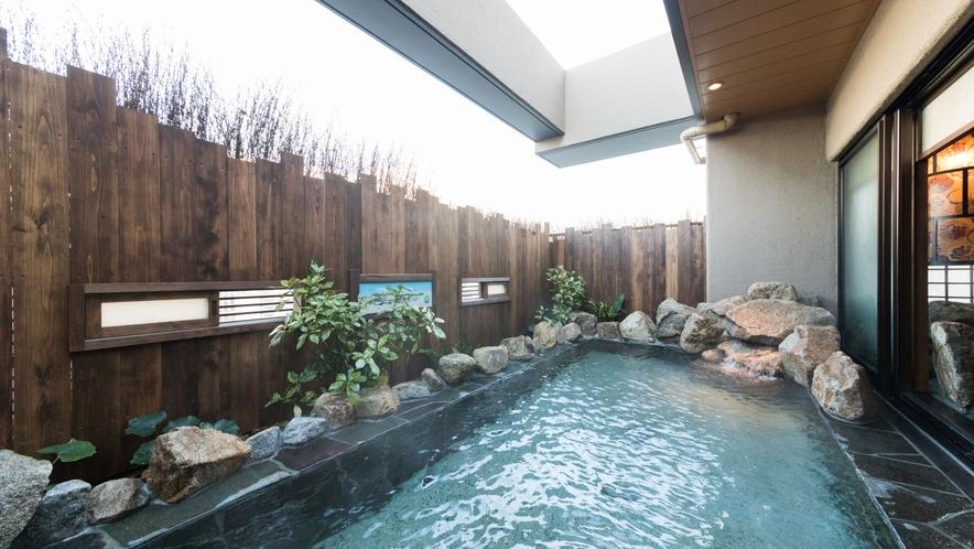 【女性】露天風呂(湯温:42℃)アルカリ性単純温泉