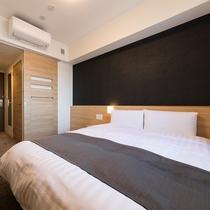◇禁煙◇ダブルルーム 15平米 ベッド140×195センチ