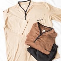 ◆客室アメニティ 部屋着は肌触りの良いセパレートタイプ♪