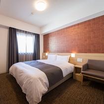 ◇禁煙◇クイーンルーム 18平米 ベッド160×195センチ※2-6階