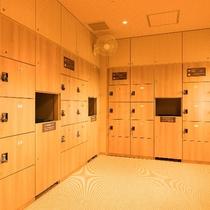 ◆男性大浴場脱衣場 ゆったりとした広々スペース