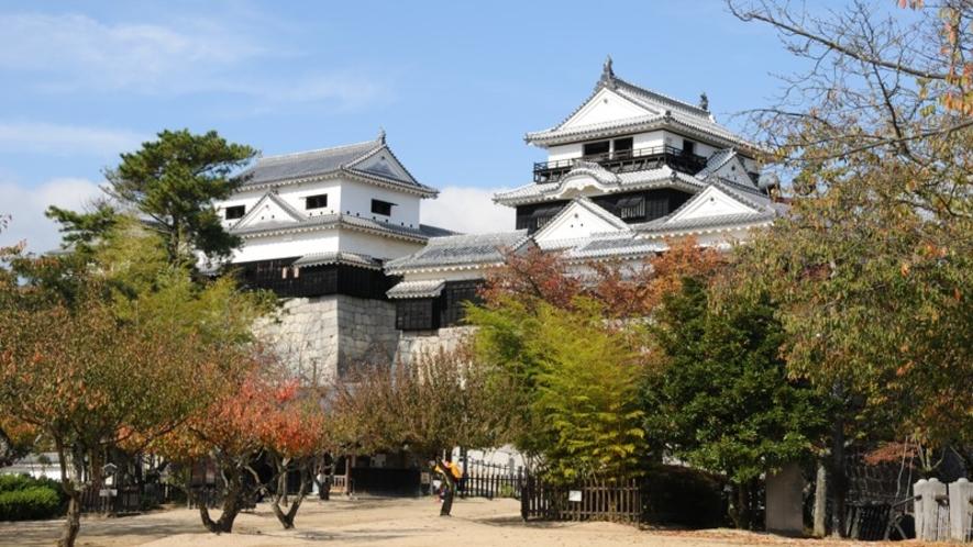 松山城(秋)