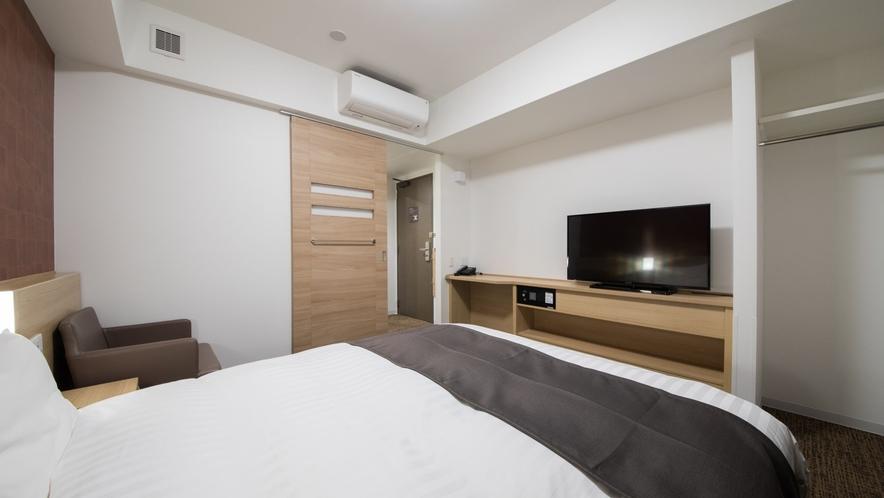 ◇禁煙・喫煙◇クイーンルーム 18平米 ベッド160×195センチ※2-6階
