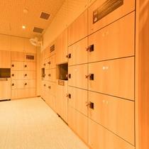◆女性大浴場脱衣場 ゆったりとした広々スペース
