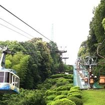 ◆松山城ロープウェイ乗り場①