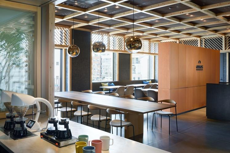 ◇OMOカフェ◇コーヒーの香り漂うカフェスペース