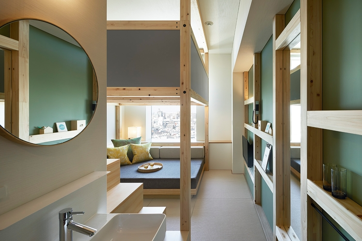 ◇やぐらルーム◇都市型ホテルでもゆったり使えるスペースが嬉しい