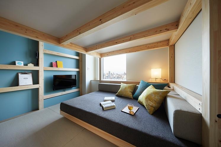 ◇やぐらルーム◇とにかく横になってみてほしい、おすすめのスペースです