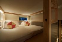 ◇YAGURA Room◇寝るときまではピシッと綺麗なベッドメイクの状態を保てます