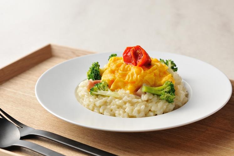 ◇朝食◇洋風の朝食らしくアレンジした「チーズ卵」
