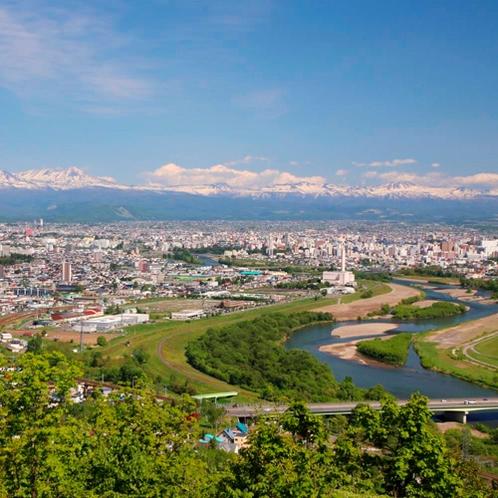 【嵐山展望台】