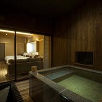 露天風呂付デラックスツイン 46平米(一例)