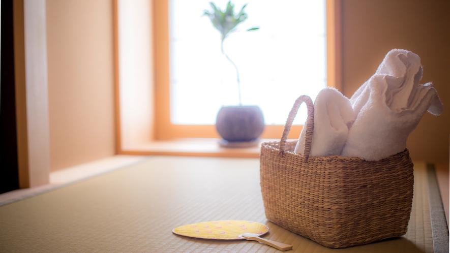 貸切風呂「蕩 八坂(to-yasaka)」 ゆとりある湯上り処や洗面スペースなど、充実の設備