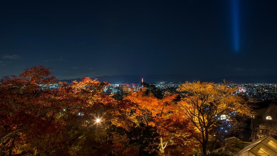 清水寺の夜間特別拝観(期間限定)ライトアップ