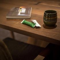 ゲストラウンジ「音羽リビング」ゆったりと京都滞在をお過ごしください。