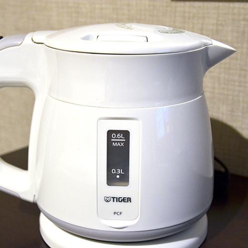 <客室備品>湯沸しポット