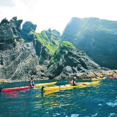 *カヤック/北海道の中でも特に透明度の高い海でのカヤックがお楽しみいただけます!