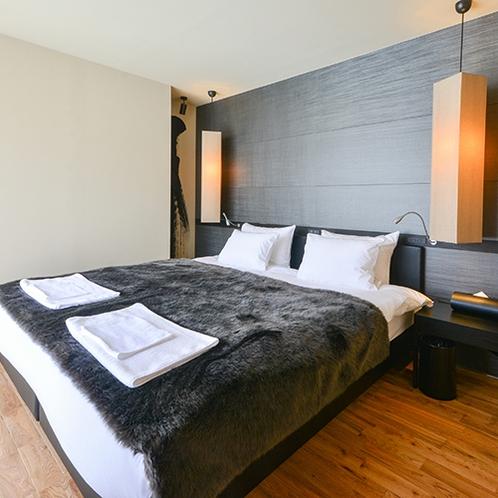 *3ベッドルーム/132平米の広々としたお部屋。2ヶ所あるバルコニーからは羊蹄山とスキー場が見えます