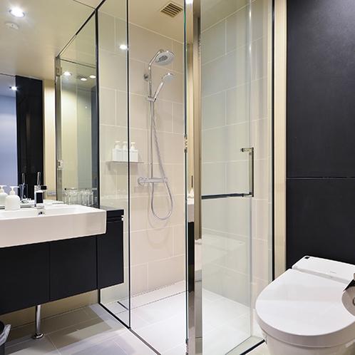 *スタジオタイプ/バスルームはシャワーブースのみとなっております。
