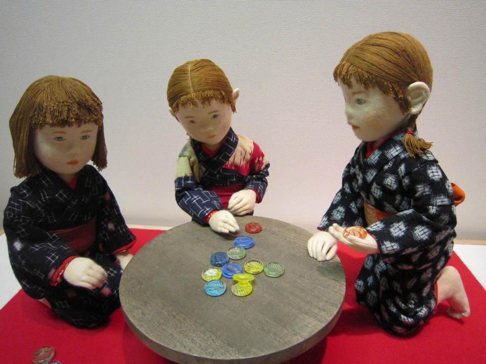 今福進さんの創作人形