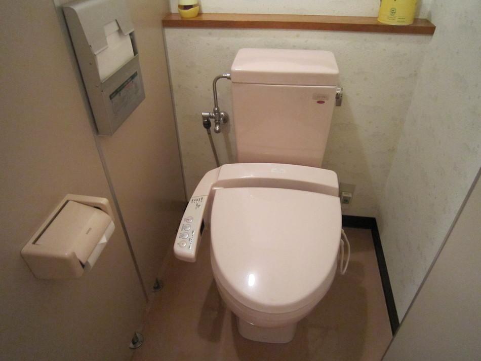 トイレはすべてウォシュレット
