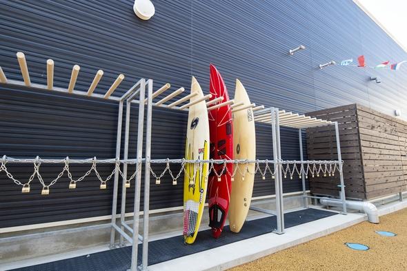 【食事なし】☆サーファー必見☆温泉無料!!気軽に手軽にサーフィンを♪