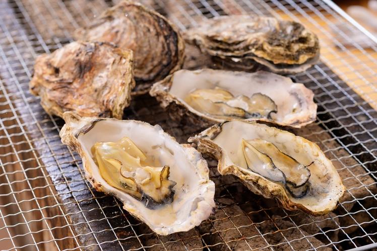 牡蠣小屋 焼き牡蠣