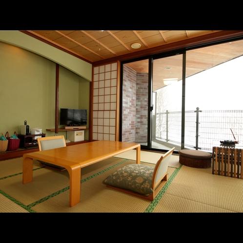 【特別室】ゆったりとした和室と独立した洋室のお部屋は贅沢な空間