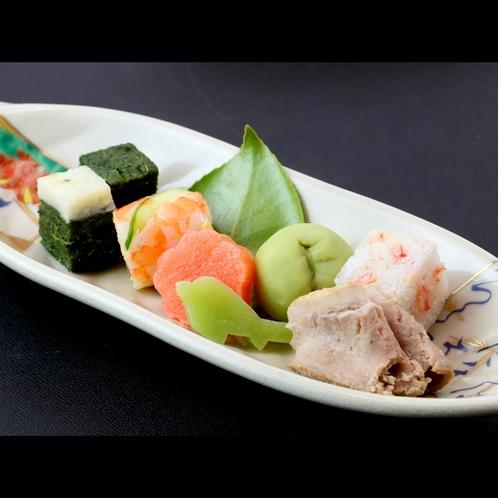 【夕食一例*春】前菜盛り合わせ