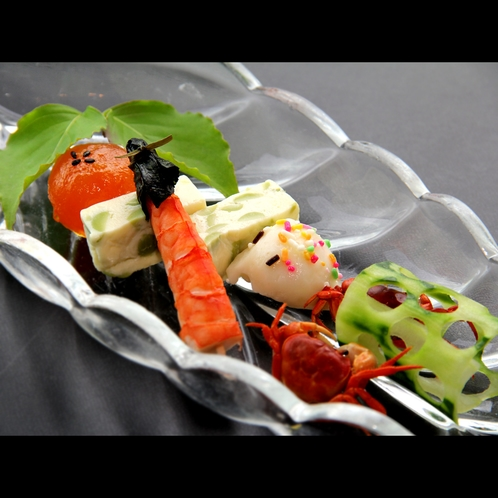 【夕食一例*夏】季節の前菜