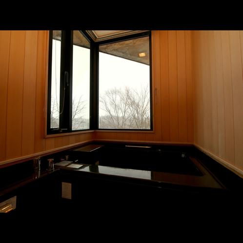 【特別室*展望風呂付】お風呂からも裏磐梯の自然が望めます