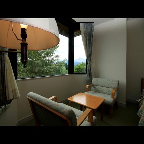 【特別室】磐梯山を眺める客室