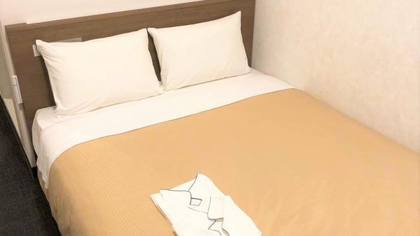 スタンダードダブルルーム<禁煙◆ベッド幅140センチ>