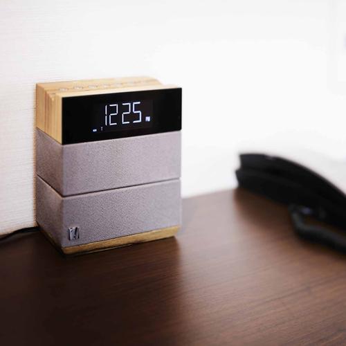 【Bluetoothスピーカー】寛ぎのひとときに、スマホと接続してお好みのBGMをお愉しみください。