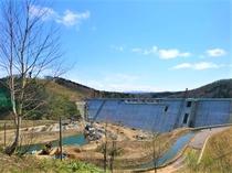 建設中のサンルダム