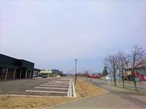 結いの森とバスターミナル