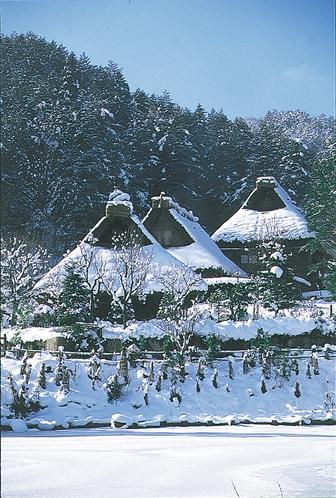 飛騨の里(冬)