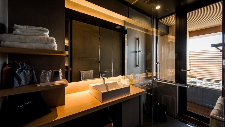 ◆客室 洗面・シャワーブース◆